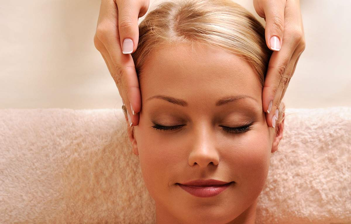 Kopfmassage - Gesichtsmassage